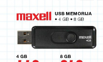 USB Flash Memorija 4GB