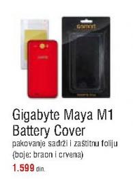 Zaštitna maska za Gigabyte MAYA M1 Battery Cover