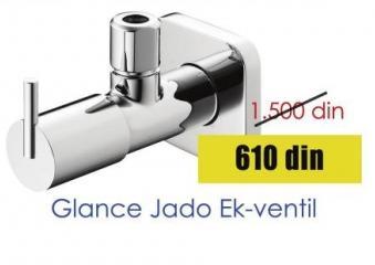 Ek ventil Glance Jado