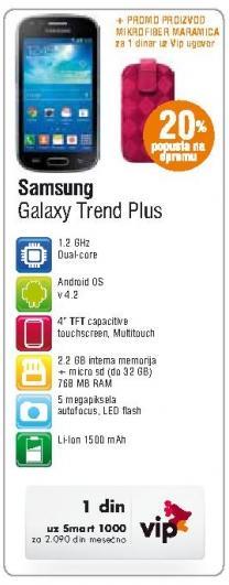 Mobilni telefon Galaxy Trend Plus
