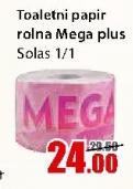 Toalet papir Mega plus