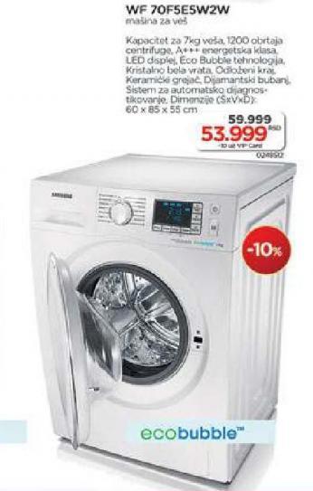 Mašina za pranje veša Wf70f5e5w2w