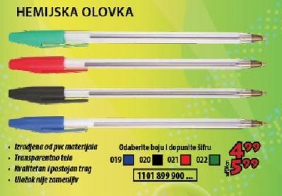 Hemijska olovka