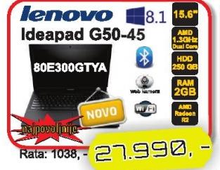 Laptop Ideapad G50-45