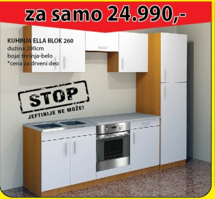 Kuhinja Ella Blok 260