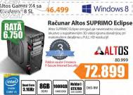 Desktop računar Altos Suprimo Eclipse+Poklon vaučer za 3 meseca f-Secure Internet security