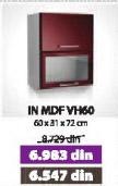 Kuhinjski element IN MDF VH60 moka