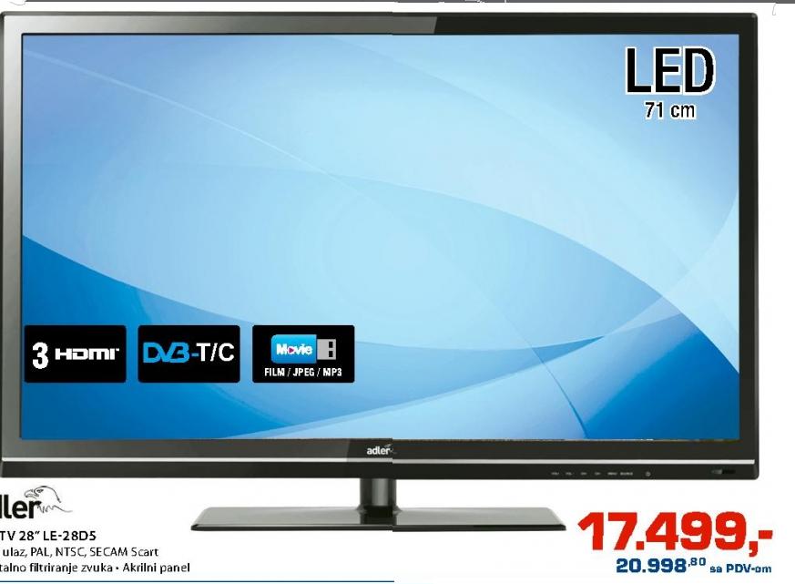 Televizor LED LE-28D5