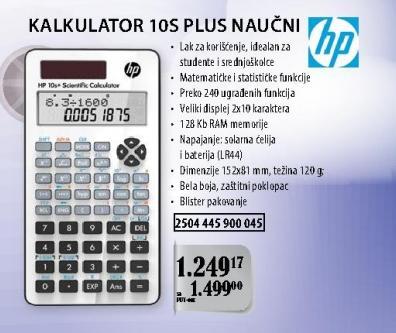Kalkulator 10s Plus