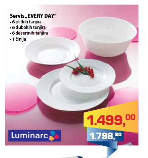 Luminarc Servis Every Day