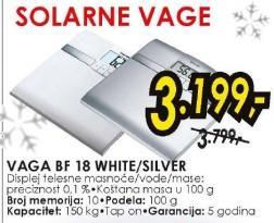 Vaga BF 18 white, silver