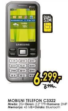 Mobilni Telefon C3322