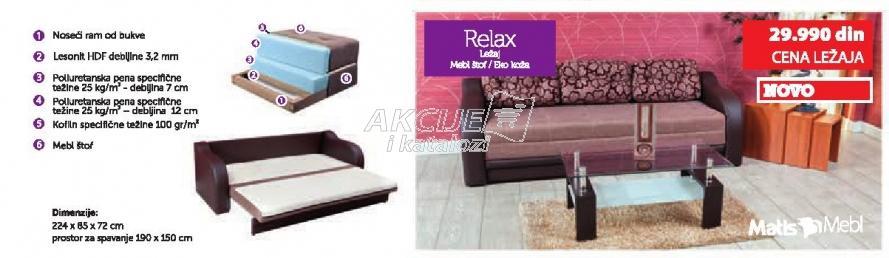 Ležaj Relax