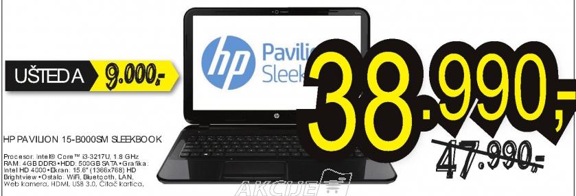 Sleekbook laptop Pavilion 15-B000SM C6K10EA