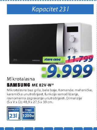 Mikrotalasna rerna GE71A/BOL