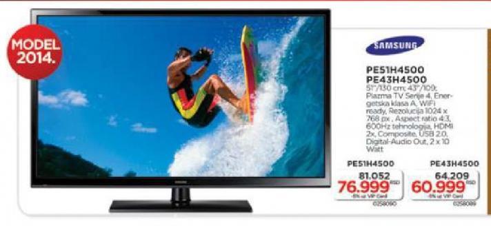 """Televizor LED 43"""" PE43H4500"""