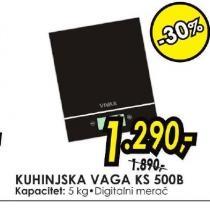 Kuhinjska vaga KS500B