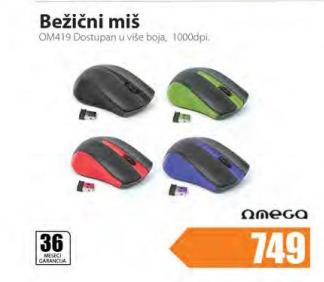 Bežični miš OM419