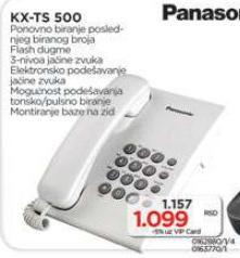 Telefon KX-TS500