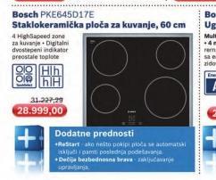 Ugradna ploča PKE 645D17E