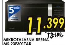 Mikrotalasna rerna MS 23F301TAK