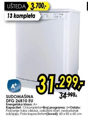 Sudomašina DFG26B10EU