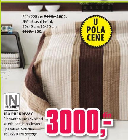 Prekrivač JEA, 160x220cm