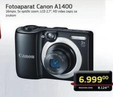 Digitalni fotoaparat PowerShot A1400