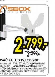 """Nosač za LCD TV 17"""" - 37"""" LCD 2301"""