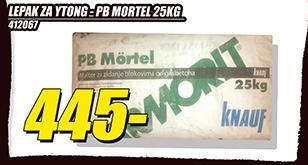 Lepak za Ytong Pb Mortel