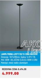 Lampa podna 42077/30/15