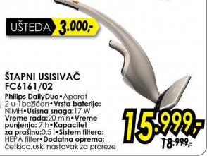 Štapni usisivač Fc6161/02