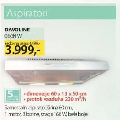 Aspirator 060W