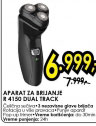 Aparat za brijanje R 4150 DUAL TRACK