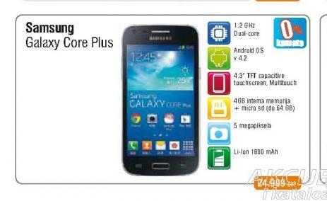Mobilni telefon Galaxy Core+