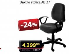 Daktilo stolica AB 37
