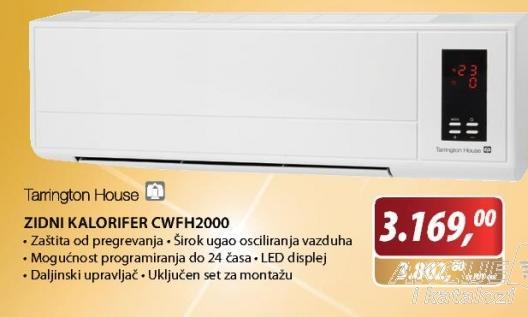 Zidni kalorifer CWFH2000