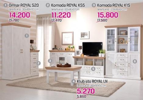 Komoda Royal K1s