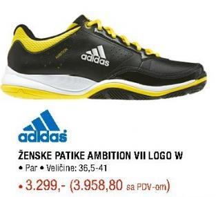 Zenske patike ambition Vll logo W