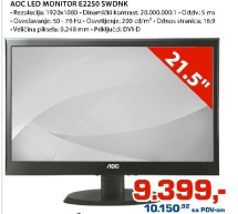 LED Monitor E2250 SWDNK