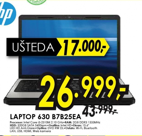 Laptop 630 B7B25EA
