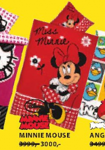 Posteljina Minnie Mouse