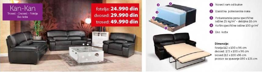 Fotelja Kan-Kan