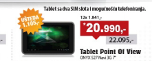 """Tablet Point Of View ONYX 527 Navi 3G 7"""","""