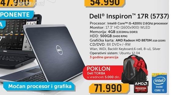 Laptop  5737-i5
