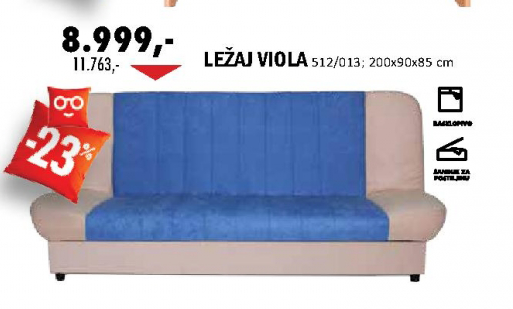 Ležaj Viola 512/013