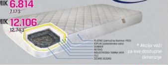 Dušek EKONOMIK 90x200 cm
