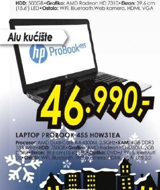 Laptop ProBook 455-H0W31EA