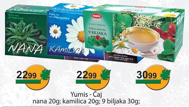 Čaj kamilica