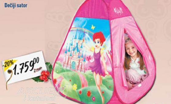 Dečiji šator za igru